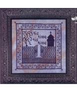 Tis Time cross stitch chart Cherished Stitches  - $7.20