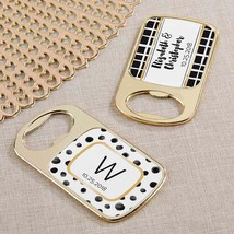 Personalized Gold Bottle Opener - Modern Classic(24 Pcs)  - $75.99