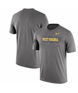 West Virginia Mountaineers Nike Dri-Fit Seismic Legend Team Issue 2XL T-... - $33.25