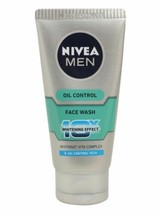 4 Pack Nivea Men Whitening Oil Control Face wash 10x Whitening Effects  50gm - $18.90