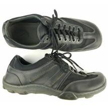 Dr Martens Casual Shoes Sz 10 Black Leather Air Soles - $28.50