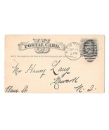 NY 1879 New York Duplex 29 in Ellipse Cancel on Scott UX5 Postal Card - £5.24 GBP