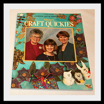 ALEENE'S CRAFT QUICKIES, CRAFT BOOK OXMOOR HOUSE 1995 - $18.29