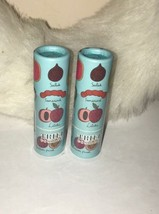 (x2) Trifle Cosmetics Exotic Fruits Lip Parfait .12 Oz New In Box ~Sealed - $17.27