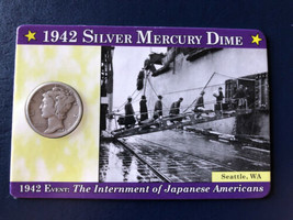 1942 Mercury Silver Dime - $4.95
