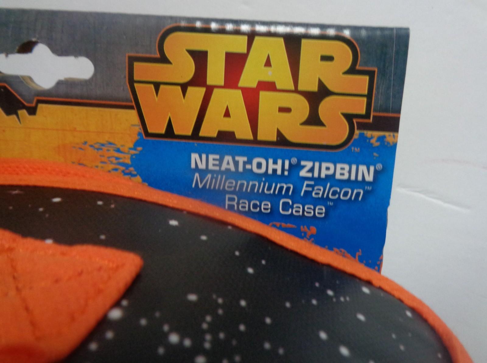 Star Wars Neat-Oh! Zipbin Storage & Play Case NWT Age 3+ Millennium Falcon