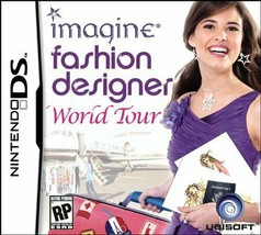 Imagine: Fashion Designer World Tour (Nintendo DS, 2009) - $4.70