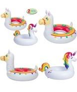"Joyin Inflatable Unicorn  Llama Inflatable Pool Float (2 Pack),35.3"" Fu... - $33.99"