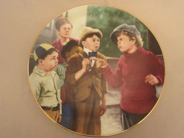 BUTCH'S CHALLENGE collector plate THE LITTLE RASCALS Rare - only 10 firi... - $39.20