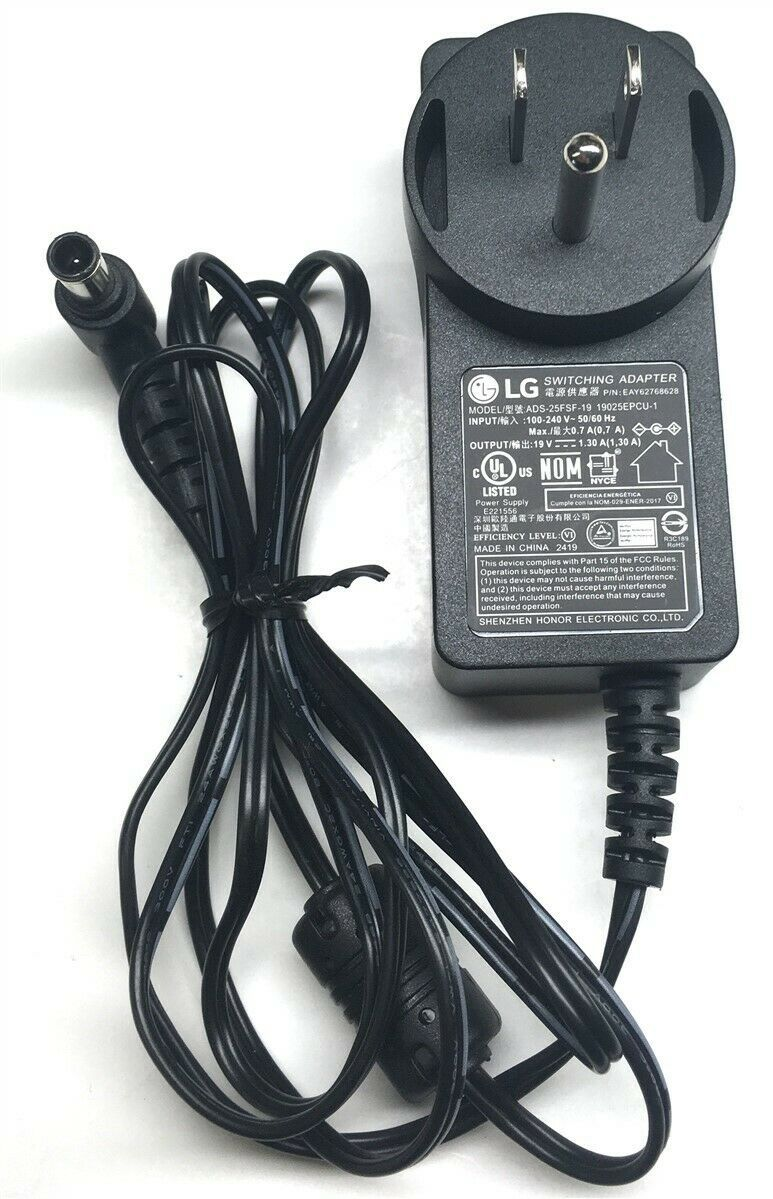 Primary image for Genuine LG Monitor Switching AC Power Adapter ADS-25FSF-19 EAY62768628 19V 25W