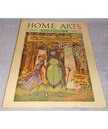Home Arts Needlecraft Magazine Cover Art June 1937 Lace Shoppe  Marjorie... - $8.95