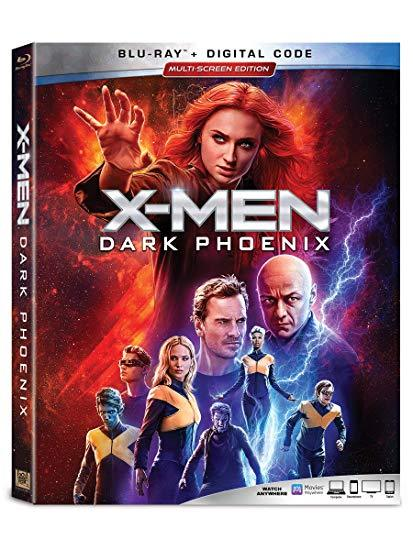 X-Men: Dark Phoenix (Blu-ray + Digital, 2019)