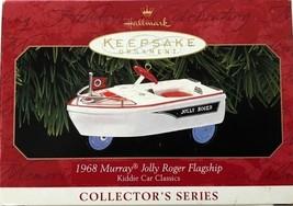 Hallmark Keepsake Ornament Kiddie Car Classics 1968 Murray Jolly Roger F... - $3.99