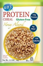 Kay's Natural Protein Cereal - Honey Almond Flavor, 1.2-Ounce Pack of 12 - $42.66