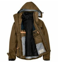 Men's Jacket Timberland Ragged Mountain 3-In-1 Waterproof Field Olive Size M New - $205.70