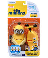 "Disney Despicable Me Deluxe Minion Build a Minion Artctic Kevin 4""  - $34.00"