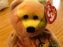 Ty Beanie Babies Peace the Bear - $6.99