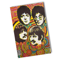 Psychedelic Beatles, Paul, Ringo, George, & John 11x17 Reproduction Poster - $10.84