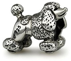Ohm Beads Sterling Silver Poodle Bead Charm - $154.25