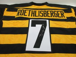 "Ben Roethlisberger / Autographed Pittsburgh Steelers ""BUMBLE-BEE"" Jersey / Coa - $153.40"