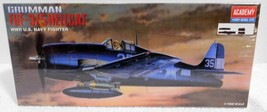 (ACADEMY HOBBY MODEL KITS) F6F-3/5 WWII USN FIGHTER (Scale 1:72) NEW/SEA... - $19.94