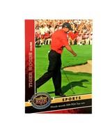 Tiger Woods 2009 Upper Deck 20th Anniversary Insert Card #2126 PGA  - $3.91