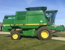 1997 JOHN DEERE 9500 For Sale In West Concord, Minnesota 55985 image 2