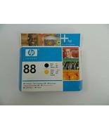 HP 88 Black and Yellow Printhead C9381A Genuine New Sealed Box - $21.99
