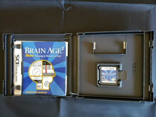 Brain Age 2: More Training in Minutes a Day (Nintendo DS, 2007) image 2