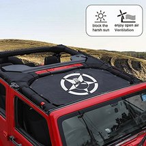 Durable Mesh Sunshade Top Cover Provides UV Sun Shade Protection for 2007-2017 J image 4
