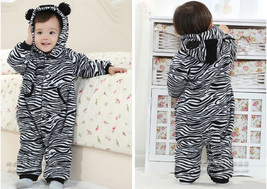 Winter Baby Kid Toddler Cartoon Bodysuit Romper Jumpsuit OnePiece Playsu... - $28.50