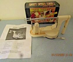 Vintage Magic Peeler - Fruit and Vegetable Peeler - In Original Box - $12.99