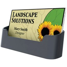 Deflecto 90104 Sustainable Office Single Business Card Holder - $20.38