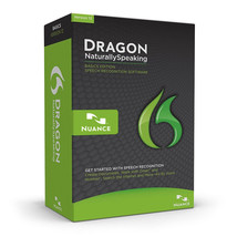 Dragon NaturallySpeaking 12 Basics, English/Old Version NO HEADSET SOFTW... - $26.55