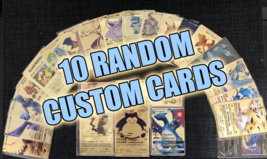 Mystery Bundle!! 10 Random Metal Pokemon Cards!! - $64.35