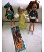 Vintage 1970's Ideal Velvet & Crissy, Mia  dolls MOC Clothes - $123.74