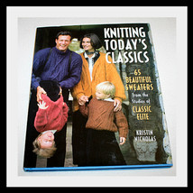 KNITTING TODAY'S CLASSICS, KNITTING PATTERNS BOOK - $22.86