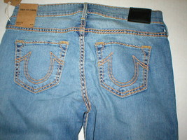New $328 Womens True Religion Brand Jeans Becca Boot Blue 28 NWT USA Goo... - $328.00