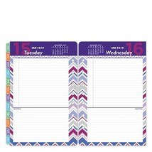Classic Retropop One-Page-Per-Day Ring-Bound Planner - Jan 2019 - Dec 2019 - $39.71