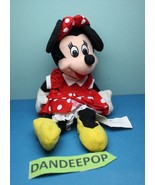 Walt Disney Parks And Stores Mini Bean Bag Plush Classic Minnie Mouse - $11.87