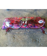 ICU Readers (Reading Glasses), Red Flowers, +1.25 Diopter, New - $22.50
