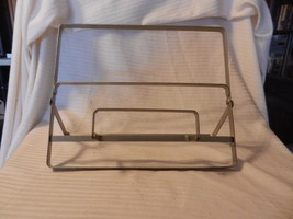 Silver Metal Cookbook Stand, Cookbook Holder Foldable - $23.75