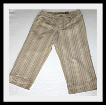 LOOK! NWT LIMITED TOO GIRLS CAPRI CROP PANTS SIZE 14 - $18.29