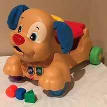 Fisher Price Laugh and Learn Stride to Ride Puppy Dog Ride On Walker 3 S... - $34.99