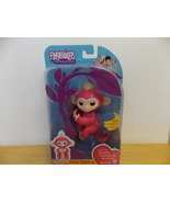 Fingerlings Bella Pink/Yellow Hair Interactive Monkey  - $35.00