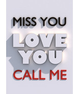 Call Me Contact Me Text Me Spell When You Had Enough of Waiting  - $50.00