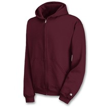 Champion Youth Double Dry Action Fleece Full Zip Hoodie - Unisex - 7 COL... - $23.74