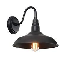 Kenroy Home 93507BL Dale Vintage 1 Outdoor Barn Light, Large, Black - $999.99