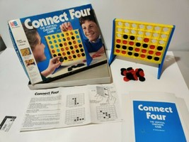 Connect Four. Milton Bradley Complete. 1986 VINTAGE BOARD GAME. - $14.80