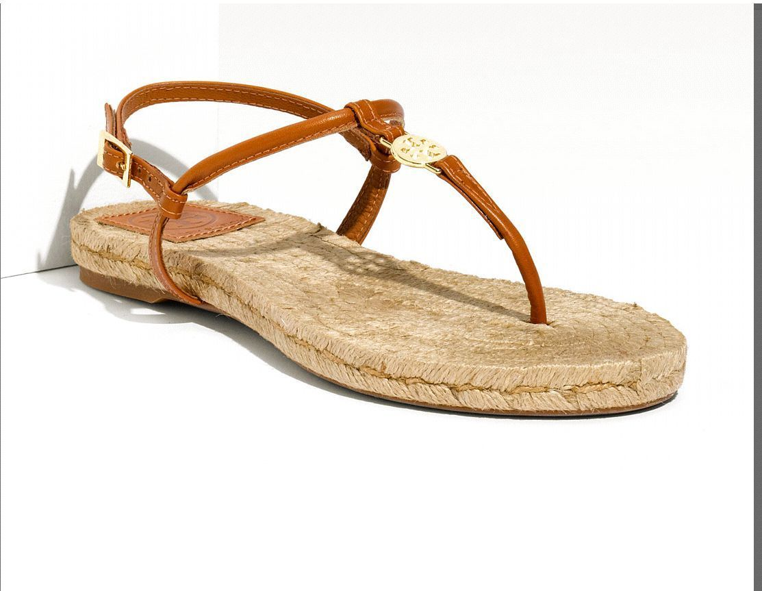 3264e5dfa60 t2ec16z y8e9s2flcscbrduyun11g 60 57. t2ec16z y8e9s2flcscbrduyun11g 60 57.  Previous. NEW TORY BURCH EMMY ESPADRILLE VEG LEATHER TAN SANDAL FLAT SHOES  SIZE 8